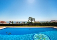 Large swimming pool with stunning views