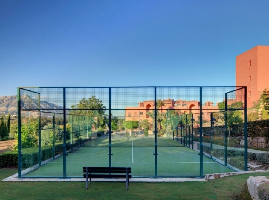 Tennis court for residents