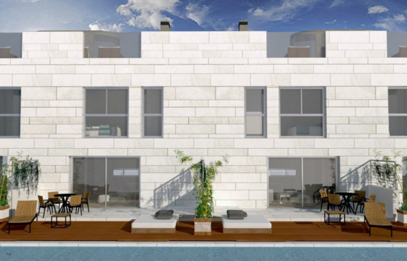 New Build Luxury Townhouses close to the Sea in El Molinar, Palma