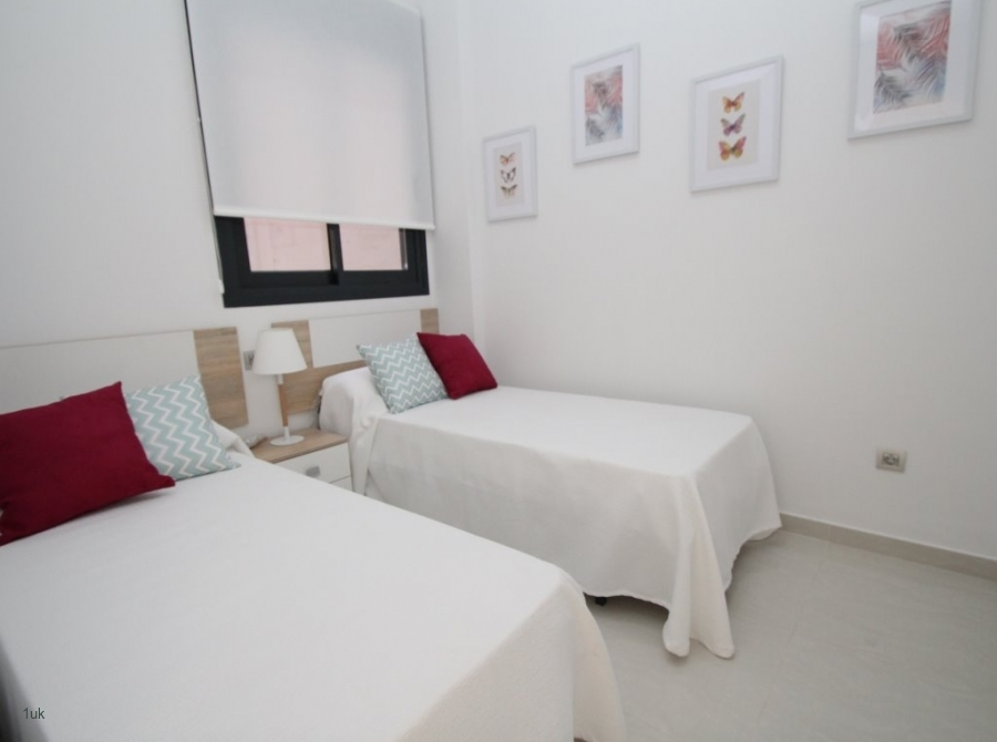 Twin beds perfect for children or guests