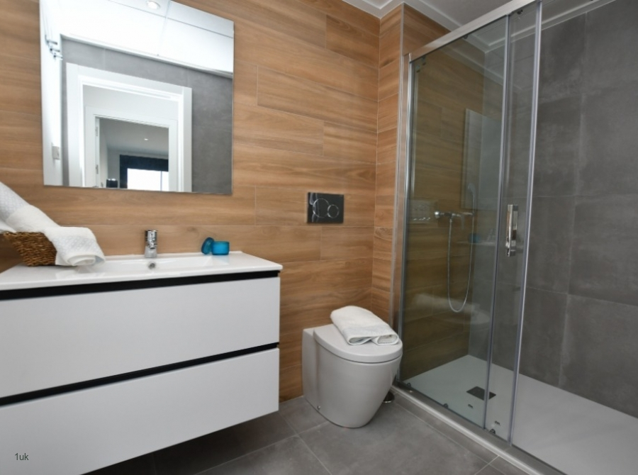 Shower cubical with drawer storage