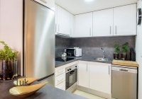 Corner fully equipped kitchen