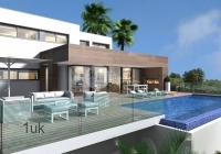 New Build Luxury 3 Bed Detached Villa With Private Pool & Sea Views