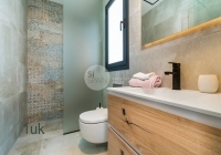 Stunning en-suite with shower, toilet and sink